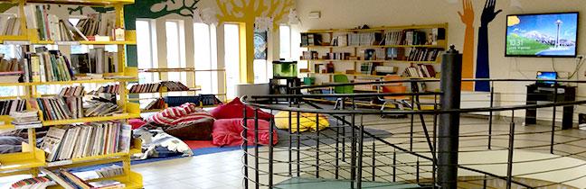 Risultati immagini per biblioteche scolastiche innovative